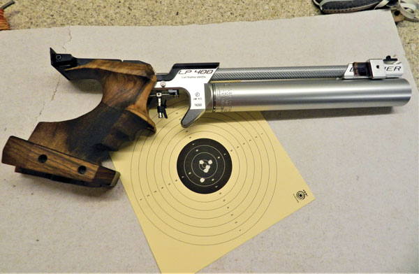 PCP pistol Accuracy