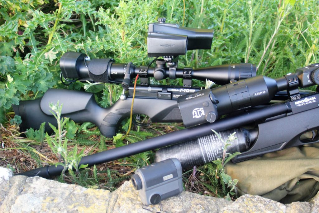 best co2 air rifle with scope