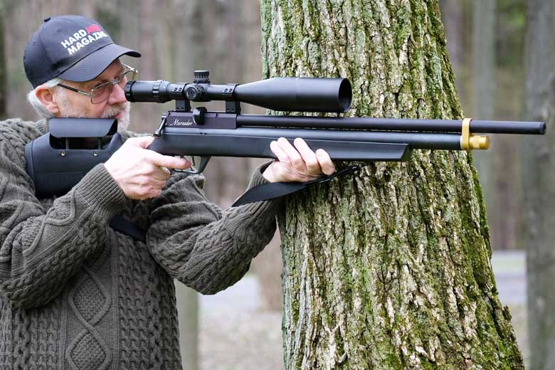 PCP-Powered .25-Caliber Pellet Multi-Shot Air Rifle